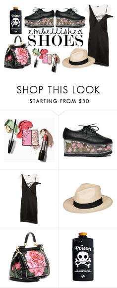 """""""Shoes with flowers"""" by candyli007 ❤ liked on Polyvore featuring R13, Roxy, Dolce&Gabbana, love, Flowers and shoes"""