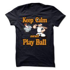 Keep calm and play Baseball  - #online tshirt design #hoodie sweatshirts. GET YOURS => https://www.sunfrog.com/LifeStyle/Keep-calm-and-play-Baseball-.html?id=60505