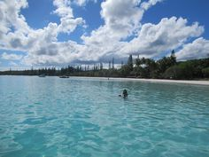 Kuto Beach on the Isle of Pines in southern New Caledonia is one of the finest places in the South Pacific to swim. South Pacific, Southern, Swimming, Beach, Water, Places, Outdoor, Swim, Gripe Water