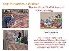 The benefits of a certified and professional graffiti removal service are essential to the restoration of your home or business. They will save you money and improve your property value.