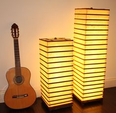 Natural Floor Lamps, Dimmable Led Lights, Wood Square, White Bedroom, Frame Shop, Low Lights, Lampshades, Wooden Frames, Table Lamp