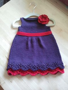 Ravelry: Sedona Baby Dress pattern by Erin Harper. This would be so cute for Maggie.