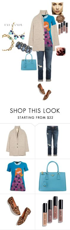 """""""Untitled #23"""" by kated ❤ liked on Polyvore featuring Vanessa Bruno Athé, J Brand, Marc by Marc Jacobs, Prada, Madewell, Bobbi Brown Cosmetics and Chanel"""