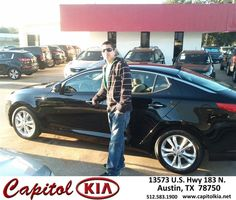 #HappyBirthday to Marcus Cantu from Marcus Benitez at Capitol Kia!