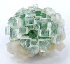 Green crystals