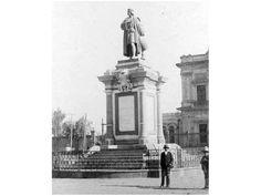 El monumento a Cristóbal Colón que se encuentra en la avenida Buenavista, en una fotografía captada ... - Proporcionado por El Universal Compañía Periodística S.A. de C.V.
