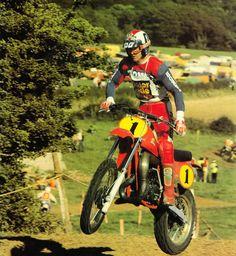 Graham Noyce. Wereldkampioen 500cc in 1979.