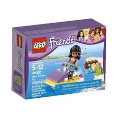 Black Friday 2014 LEGO Friends Water Scooter Fun 41000 from LEGO Cyber Monday. Black Friday specials on the season most-wanted Christmas gifts. Lego Girls, Toys For Girls, Jet Ski, Legos, Toddler Toys, Kids Toys, Lego Beach, Amazon Lego, Lego Friends Sets