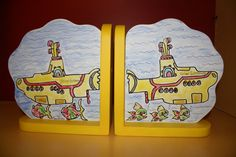 Yellow Submarine Bookends