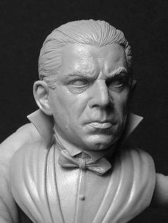 Dracula 1/4 scale bust sculpted by Jeff Yagher resin model kit | eBay