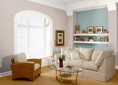 This is the project I created on Behr.com. I used these colors: RACE TRACK(N180-3),GARDEN VISTA(N430-3),EARTHNUT(PPU5-16),SHEA(RD-W09),