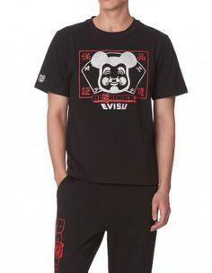 4024c18b2246 (Pre-Order)EVISU X BE RBRICK Quality Guarantee Print T-shirt