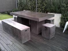Concrete ...Outdoor Furniture