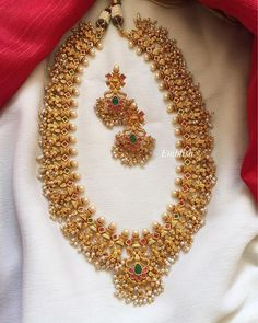 Ultimate 35 Gold Necklace Designs Images Of This Year Antique Jewellery Designs, Antique Jewelry, Gold Jewelry, Designer Jewellery, Antique Gold, Indian Jewellery Design, Punk Jewelry, Gold Necklaces, Handmade Jewellery