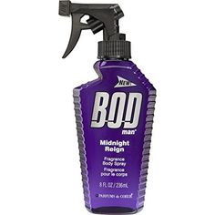 BOD Man Fragrance Body Spray, Midnight Reign, 8 Fluid Ounce - http://www.theperfume.org/bod-man-fragrance-body-spray-midnight-reign-8-fluid-ounce/