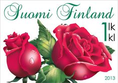 Buy and sell stamps from Finland. Meet other stamp collectors interested in Finland stamps. Traditional Roses, Sell Stamps, Postage Stamp Art, Stamp Catalogue, Flower Stamp, Stamp Collecting, My Stamp, Rose Buds, Red Roses