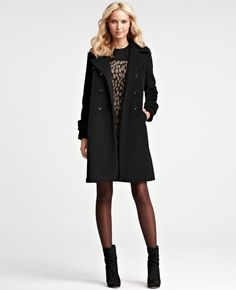 Love this coat...Ann Taylor $299 on sale!