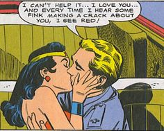 Steve Trevor and Wonder Woman--*sniffs* *wipes a tear* *applauds* Comic Book Covers, Comic Books, Wonder Woman Comic, Wonder Women, I See Red, Dc Memes, Comic Page, Love You, My Love