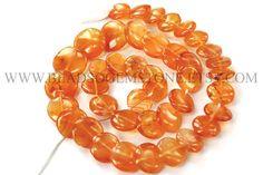 14 Inch Carnelian Beads In Disc Smooth Shape Quality A #carnelian #carnelianbeads #carnelianbead #carneliandisc #discbeads #beadswholesaler #semipreciousstone #gemstonebeads #beadsogemstone #beadwork #beadstore #bead