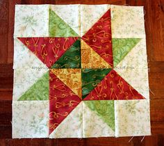 Red Needle Quilts: Blogger's BOM #2 & #3 / Hand stitching
