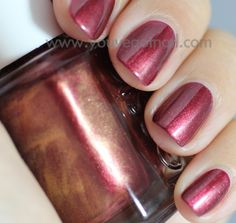 Wrapped In Rubies - Essie....the new color I bought today. Love it! -Kelly