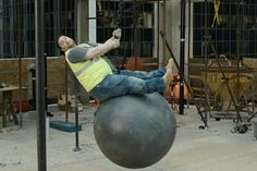 A Burly Builder Shows Off His Pole Dancing Moves in Latest Moneysupermarket Ad - Video - Creativity Online