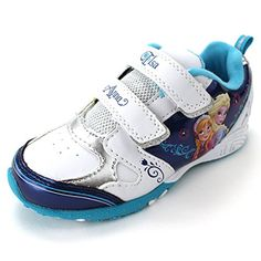 Frozen Elsa Anna Girls White Lighted Sneakers Shoes (10 M US Toddler) Disney http://www.amazon.com/dp/B00S8EK87A/ref=cm_sw_r_pi_dp_-.sYub0NE2S4A