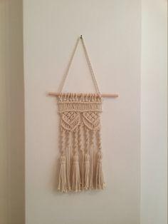 EXPRESSVERSAND Makramee Wandbehang gewebten Wandbehang