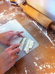 Traditional Sugar Aunts: Homemade Noodles for Haluski + Sausage