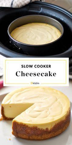 Martha Stewart's Slow Cooker Cheesecake Recipe