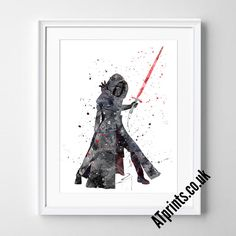STAR WARS Watercolour Art Print