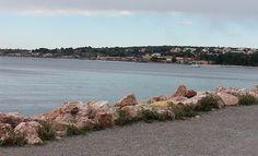 No sul da França, Bouzigues   a cidade das ostras.
