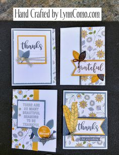 Love this time of year and creating gratitude cards for those you care about. So pretty!