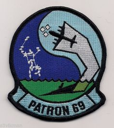 USN VP-69 TOTEMS patch ( P-3 ORION MARITIME PATROL SQN )