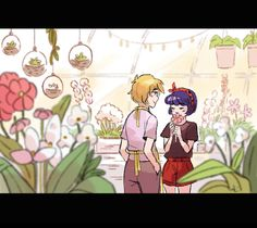 """chiumonster: """"HAPPY BIRTHDAY MY DEAREST @matchaball !!! This image is based off of her lovely Miraculous Ladybug fic, Inking Indigo  and it's so, so wonderful. Like a warm cup of tea. I hope you have a wonderful day m'dear–you're always full of..."""