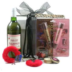Naughty Valentine! With wine & body paint! For some sexy fun on Valentine's Day! £27.99