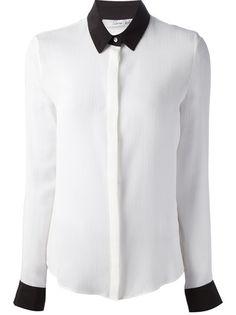 LUDOVICA AMATI Contrast Collar Shirt
