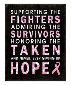 Cancer Awareness... Pray For A Cure