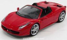 MATTEL HOT WHEELS W1177 1/18 FERRARI 458 ITALIA SPIDER 2011 Scale: 1/18Code: W1177Colour: REDMaterial: die-castNotes: ELITE SERIES