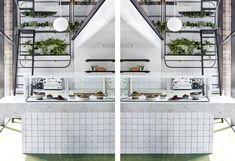 NIAM - Brisbane - Designer: The Stella Collective - Photographer: SEAN FENNESSY  Restaurant design, Cafe Design, Interior Design, Hospitality Design