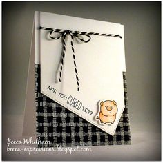 For the placement of the layers. Are you CURED yet? by - Cards and Paper Crafts at Splitcoaststampers Card Making Inspiration, Making Ideas, Feel Better Cards, Card Sentiments, Mft Stamps, Get Well Cards, Animal Cards, Card Sketches, Sympathy Cards