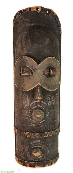 Bembe Mask Alunga DR Congo African 26 Inch - Congo - African Masks