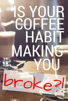 It didn't take me very long to realize that my coffee addiction was hindering my goal of building my savings. I knew something had to give, and it was not about to be my coffee! Here are the top four things that help to keep me caffeinated and on a budget! via whitneyhansen.com