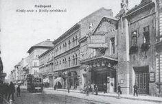 1910 körül, Király utca