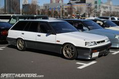 Vintage JDM knowledge found here...R31 Skyline Wagon. Skyline Gtr, Nissan Skyline, Nissan Gtr R34, Normal Cars, Jdm Wallpaper, Japanese Domestic Market, Nissan Infiniti, Drifting Cars, Japanese Cars