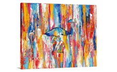 Rain Dance - $349.00 | United Artworks | Original art for interior design, buy original paintings online