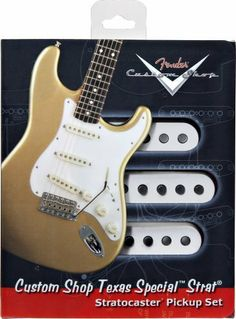 Fender Custom Shop Pickups Strat Texas Specials (Set Of 3) by Fender. $195.51. This is the pickup that redefined the Texas blues sound.  Texas Specials boast plenty of midrange chirp, crystal highs and tight bass, along with increased output.