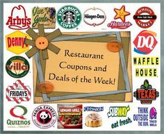 On http://fast-food-coupons.info you'll find the latest coupons, rebates and special deals from popular fast food chains. Grab them and enjoy your favorite meals at discounted prices! For more information about restaurant coupons, fast food coupons, printable restaurant coupons please visit http://fast-food-coupons.info