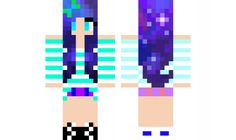 minecraft skin galaxy-girl Find it with our new Android Minecraft Skins App: https://play.google.com/store/apps/details?id=the.gecko.girlskins