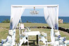 Kameralny ślub nad morzem / Intimate marriage by the sea